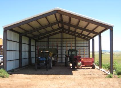 Barn Storage Building Plans